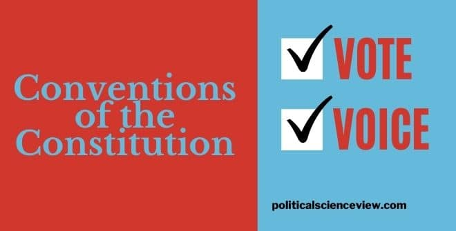 Conventions of the Constitution