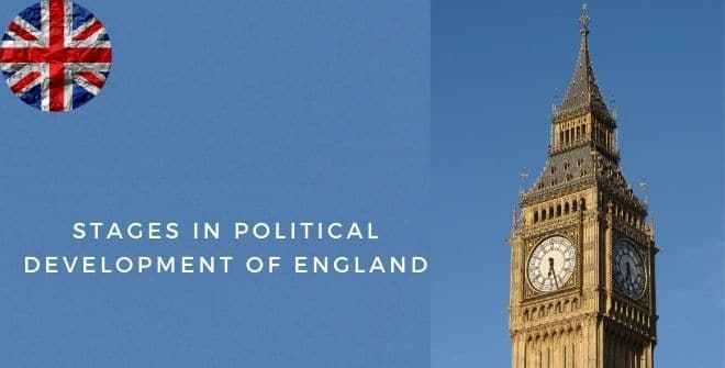 Stages in Political Development of England