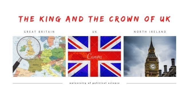 The King and the Crown of UK